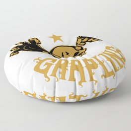 MMA Grapling for people who like   loves mma and martial arts  Floor Pillow