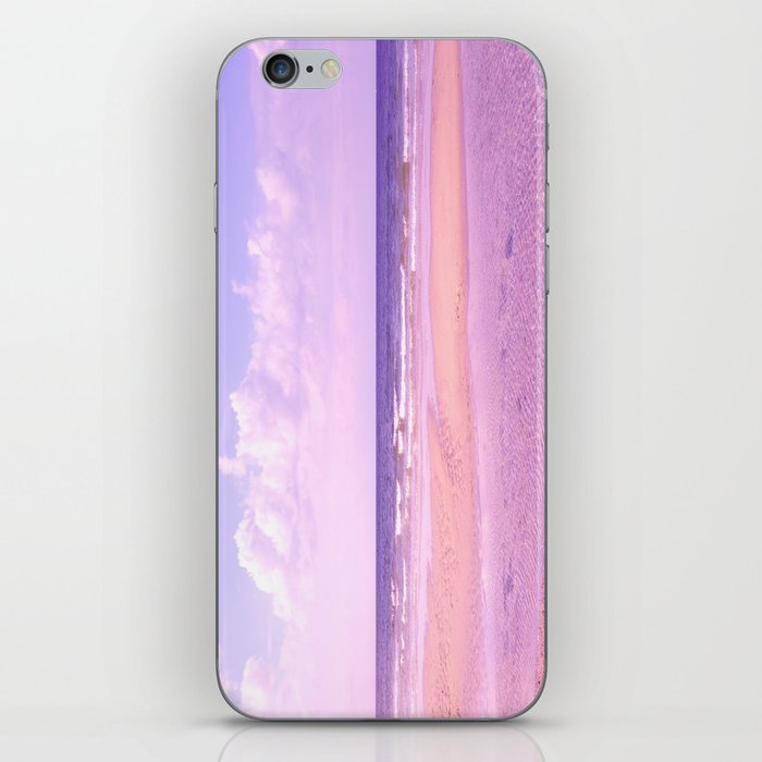 dreamy beach iPhone Skin