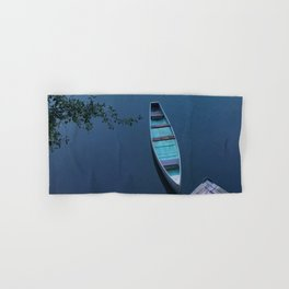 Blue Canoe Hand & Bath Towel