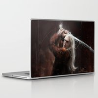 thranduil Laptop & iPad Skins featuring Thranduil by LucioL