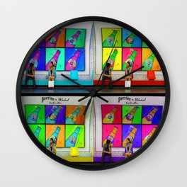 Meet Cute Wall Clock