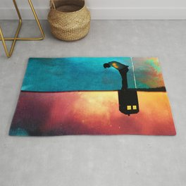 Peace for Lonely Monsters Rug