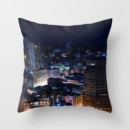 Big City Dreams Throw Pillow