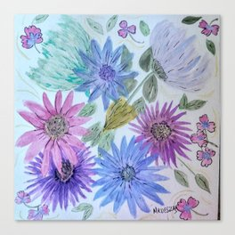 Spring time Bouquet Canvas Print