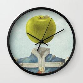 Sgt. Apple  Wall Clock