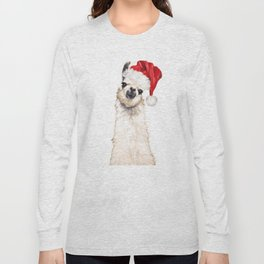 Christmas Llama Long Sleeve T-shirt