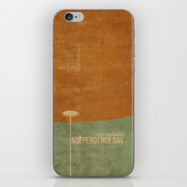 Independence Day inspired movie poster iPhone Skin