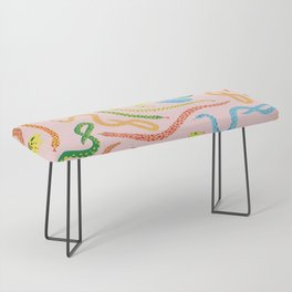 Snakes and Frogs Bench
