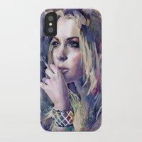 "lindsay lohan iPhone & iPod Cases featuring ""Lindsay Lohan"" by Emma Reznikova"