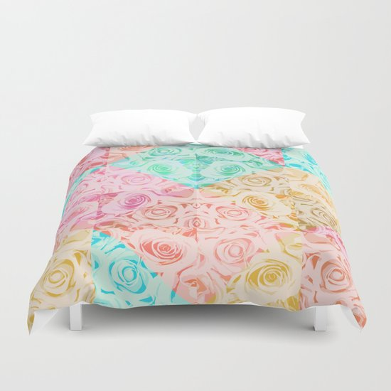 a rose is a rose Duvet Cover