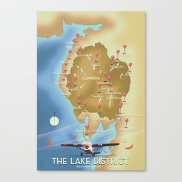 The Lake District England Canvas Print