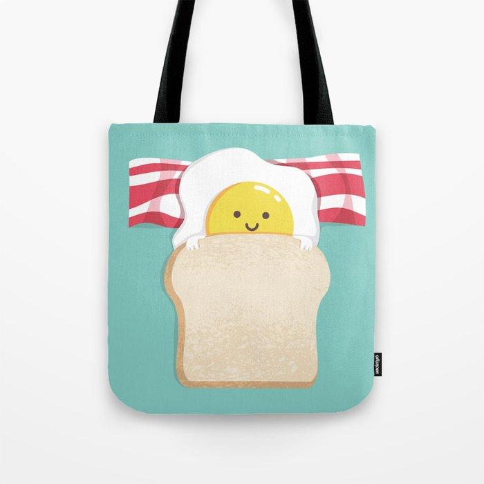 Morning Breakfast Tote Bag