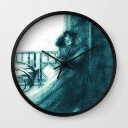 """Paul-Albert Besnard """"Love"""" (III) Wall Clock"""