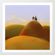 Toscana Two (part of diptych) Art Print