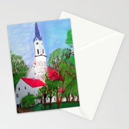Kirche von Ergolding Stationery Cards