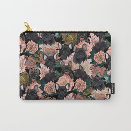 Because Black Frenchie Carry-All Pouch
