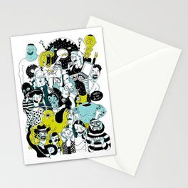 CROWD OF DUDES Stationery Cards