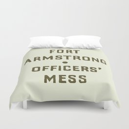 Fort Armstrong Duvet Cover
