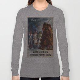 Vintage poster - World War II Long Sleeve T-shirt
