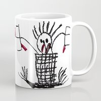 skeleton Mugs featuring Skeleton by WeKids Design