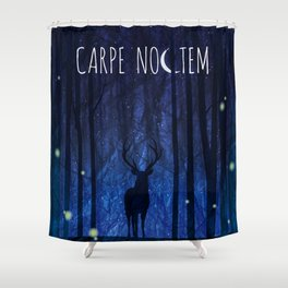 Seize the Night Shower Curtain