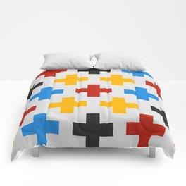 Colorful Cross Comforters