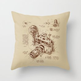 Moment Catcher Throw Pillow