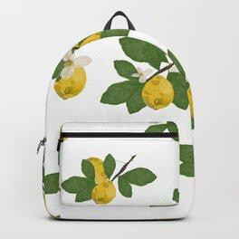 Lemon Tree and Lemon Flowers Backpack