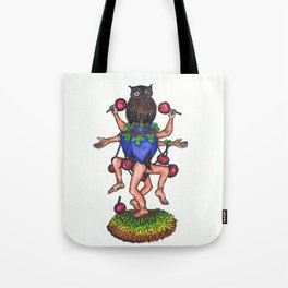 Dance with cherries Tote Bag