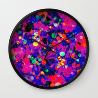 80s Wall Clocks featuring 80S by RUEI