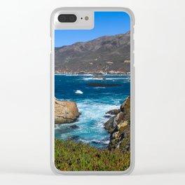 The Secret Spot (Garrapata State Park) Clear iPhone Case