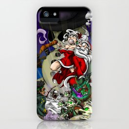 Sex, Drugs, and Candy Canes: The Santa Claus Story iPhone Case