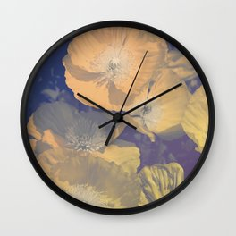 Capricious Tulips II Wall Clock