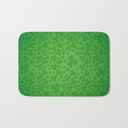 irish, ireland, shamrock, irish gifts women, luck of the irish, irish gift, three leaf clover Bath Mat