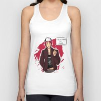 iwatobi Tank Tops featuring Fish are Friends by Nowhere Little Girl