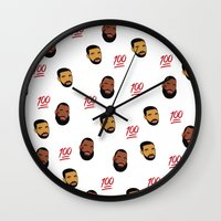 the 100 Wall Clocks featuring 100 by Gone