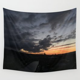 Sunrise in Georgia // #TravelSeries Wall Tapestry