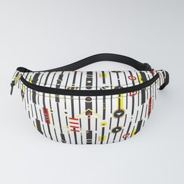Punky retro graphic Fanny Pack