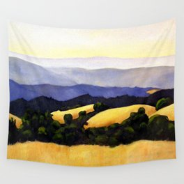 California Landscape Wall Tapestry