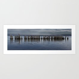 Pillars of Salt Art Print