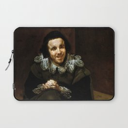 "Diego Velázquez ""The Buffoon Juan de Calabazas (Calabacillas)"" Laptop Sleeve"