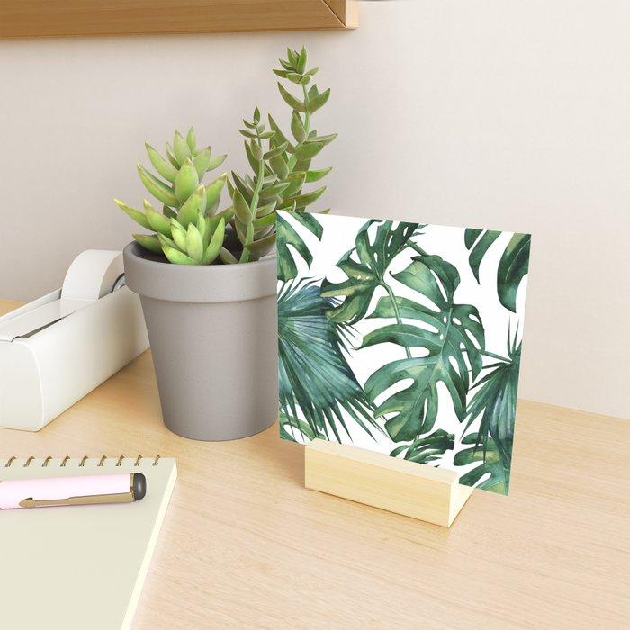 Simply Island Palm Leaves Mini Art Print