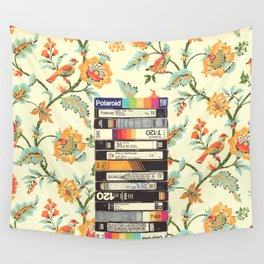 VHS & Entry Hall Wallpaper Wall Tapestry