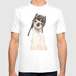 Pilot Llama T-shirt