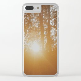 Flares Clear iPhone Case