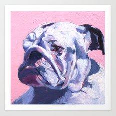 BuLLDOG (Zoe) Art Print
