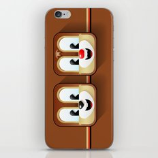 chip and dale iPhone & iPod Skin