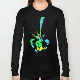 Rubik's Challenge Long Sleeve T-shirt
