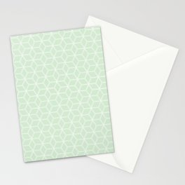 Hive Mind - Light Green #395 Stationery Cards