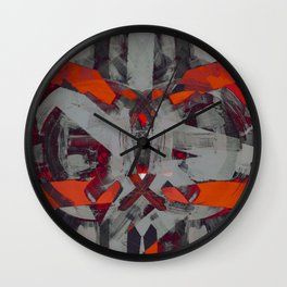 cleaving the sun Wall Clock